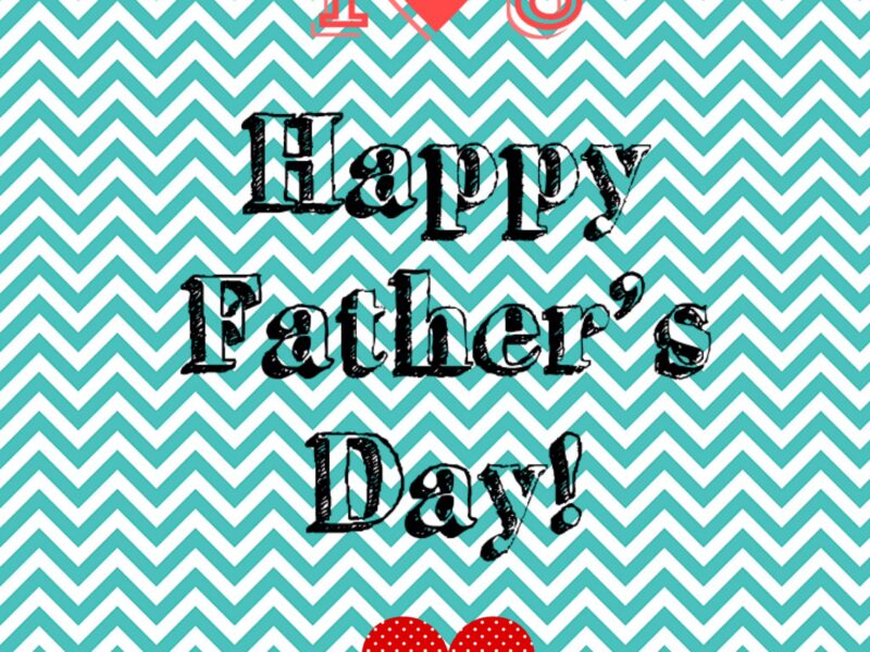 Tutorial for a Happy Father's day card